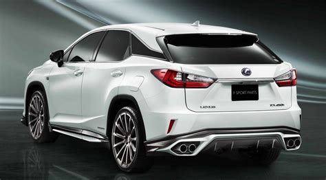 The New Lexus Rx Already Has Accessories Trd Most