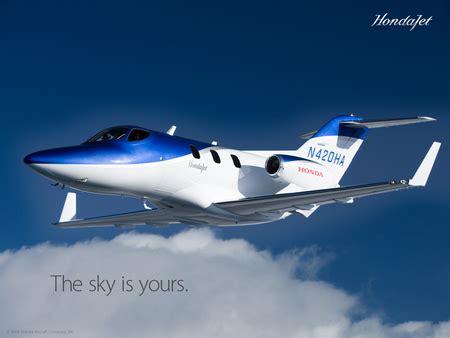 honda jet  sky   private planes aircraft