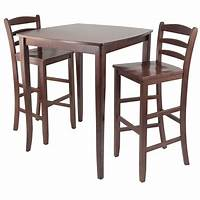 high table and chairs Amazon.com - Winsome Inglewood High/Pub Dining Table with ...