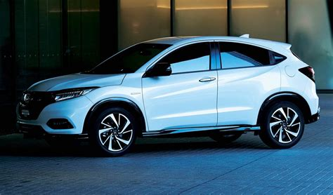 2019 Honda Hrv Previewed With Vezel Facelift  The Torque