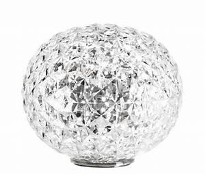 Luminaire Kartell : lampe de table planet led h 28 cm cristal kartell ~ Voncanada.com Idées de Décoration