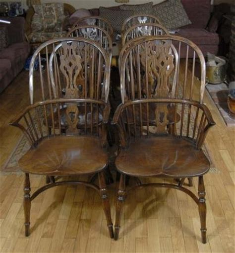 oak dining table and 8 chairs for sale english oak refectory table 8 windsor chair dining set