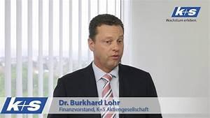 Dr Burkhard Radolfzell : interview mit k s finanzvorstand dr burkhard lohr youtube ~ Orissabook.com Haus und Dekorationen