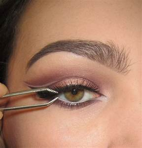 Eyeliner Chart Warmtoned Negative Space Makeup How To Create A Cat Eye