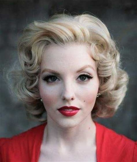 1950s Curly Hairstyles by Vintage Hairstyles Hair Hairstyles 2018