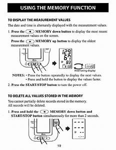 Page 19 Of Omron Healthcare Blood Pressure Monitor Hem