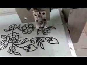 peinture sur verre vitrail youtube With peindre sur toile de verre