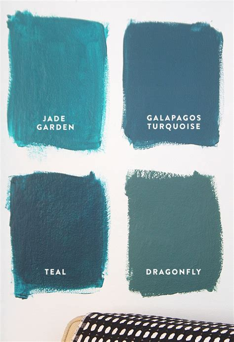 4 shades of teal decorate it s in the details teal