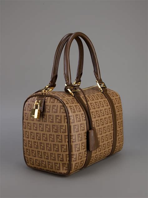 Fendi Bauletto Forever Tote in Brown - Lyst