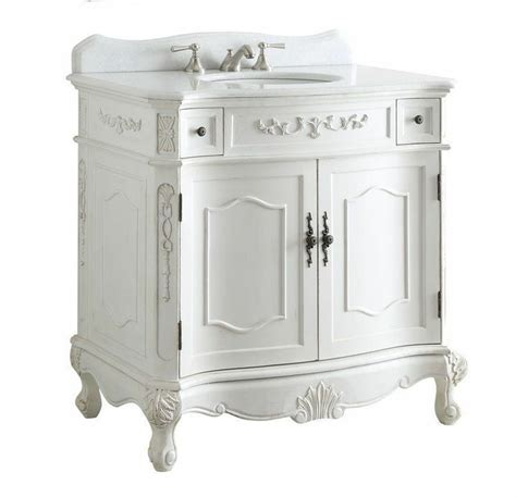 tradition antique white fairmont bathroom sink vanity