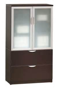 Home Designs Interior Simple Home Organizers With Small Wood Storage Cabinets Semi Transparent Glass Doors And Two