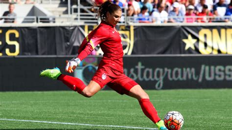 talked  hope solo     womens soccer