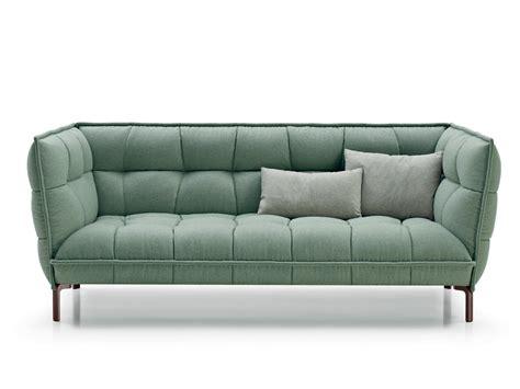canape italia canapé capitonné en tissu husk sofa by b b italia design