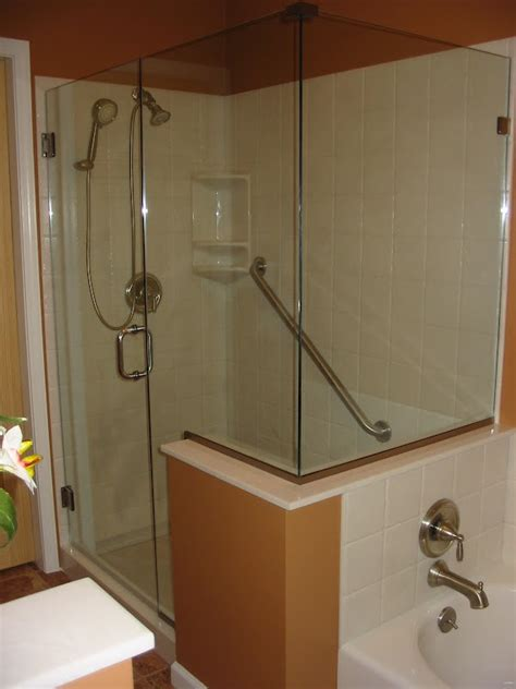 cultured marble shower stall  bath tub master bath