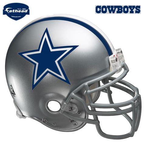 dallas cowboys helmet fathead nfl wall graphic