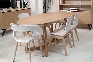 Table Bois Avec Rallonge : table ovale avec rallonge integree mobiliers pinterest ~ Teatrodelosmanantiales.com Idées de Décoration
