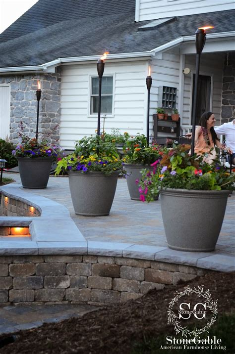 Decorating Ideas For Outdoor Patios by Backyard Landscape 16 Amazing Diy Patio Decoration Ideas