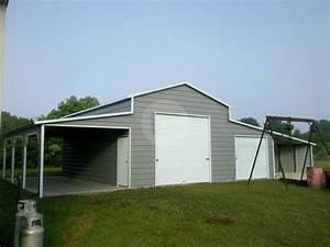 custom designed metal buildings take help from carport With custom built metal buildings