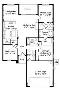 one level floor plans house plan 64638 at familyhomeplans com