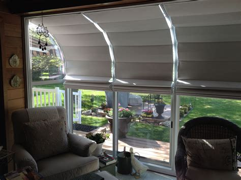 Sunroom Shades by 5 Bay Sunroom Our Shades Made With Sunbrella Thinsulate