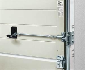 securisez votre porte de garage ternois fermetures With porte de garage sectionnelle avec serrure de sécurité