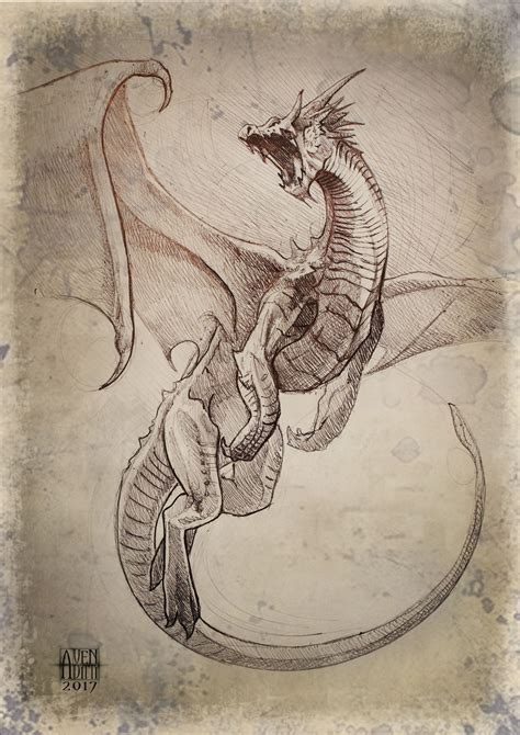 artstation dragon flight antonello venditti