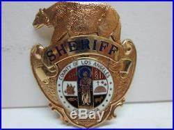 Los Angeles County Calif Sheriff Police Officer Cap Piece ...