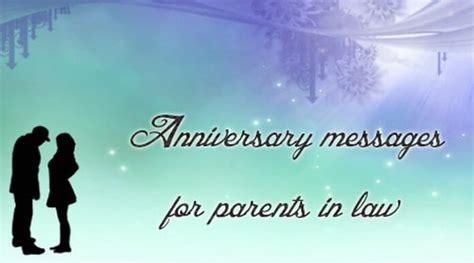 anniversary messages  parents  law