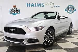 2017 Used Ford Mustang EcoBoost Premium Convertible at Haims Motors Serving Fort Lauderdale ...