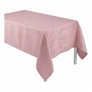 Nappe Rose Poudré : tovaglia tivoli rose poudre tovaglia la tavola le jacquard fran ais ~ Teatrodelosmanantiales.com Idées de Décoration