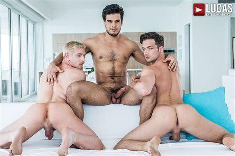 Threesome | Gay Porn Scene | Lucas Entertainment