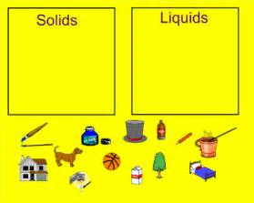 Solids Liquids and Gases