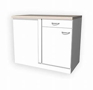 Küchen Unterschrank 40 Cm Breit : k chen eckunterschrank unna 1 t rig 110 cm breit wei k che ~ Indierocktalk.com Haus und Dekorationen