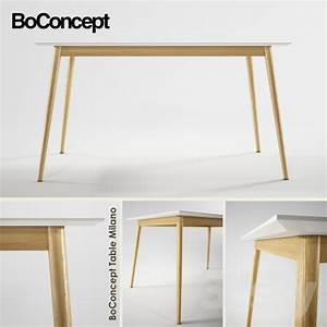 Table Bo Concept : 3d models table boconcept milano ~ Melissatoandfro.com Idées de Décoration