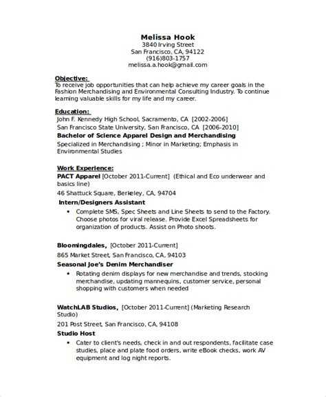 Tailor Seamstress Resume Sle by Seamstress Resume Template 6 Free Word Pdf Documents