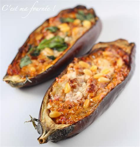 recette cuisine sans four recettes aubergines farcies au four
