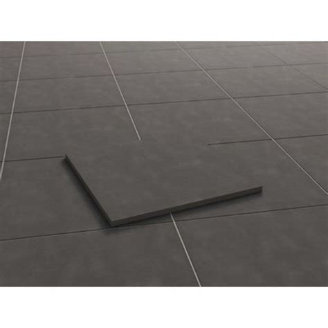 terrassenplatten feinsteinzeug terrassenplatte feinsteinzeug streetline graphit 60 x 60 x
