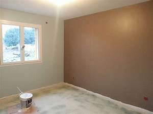 Maison a la campagne janvier 2015 for Piece peinture 2 couleurs