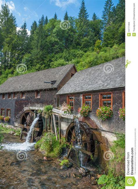 Watermill,black Forest,schwarzwald,germany Stock Photo