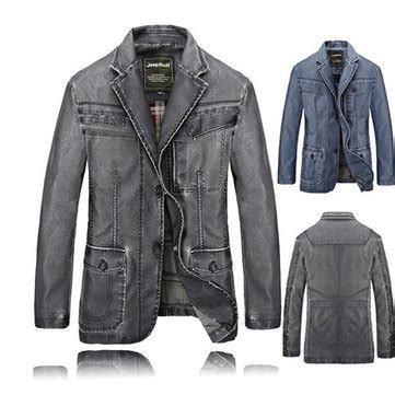 jeep rich jacket jeep rich mens pu leather jacket buttons motorcycle