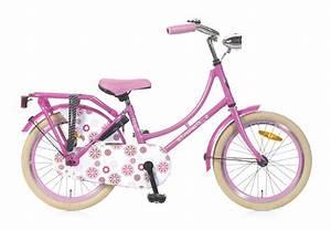 18 Zoll Fahrrad Mädchen : 18 zoll hollandrad rosa mit blumen fahrrad ass ~ Kayakingforconservation.com Haus und Dekorationen