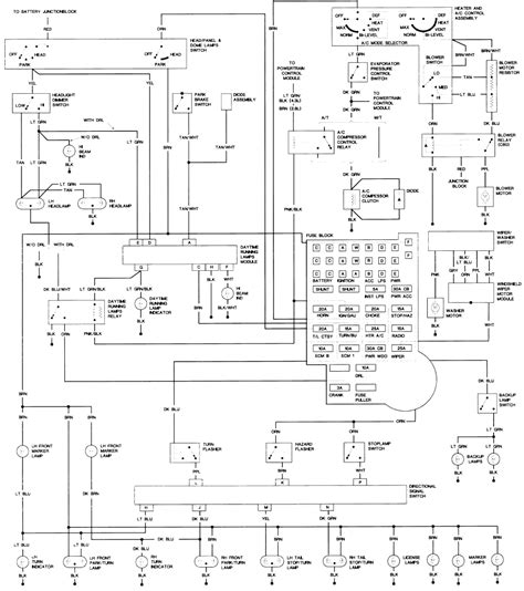 99 Gmc Sonoma Wiring Diagram by Repair Guides Wiring Diagrams Wiring Diagrams