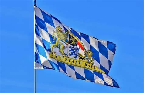 Flag, Bavaria, Bavarian, Flutter, Diamond, White Blue ...