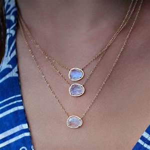 Image Gallery Moonstone Necklace
