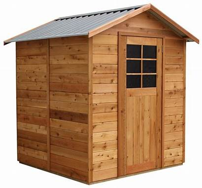 Shed Clipart Garden 6x6 Tool Transparent Lean