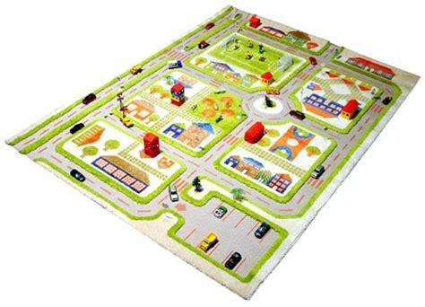 tapis enfant 3d ville vert ivi tapis enfant 3d