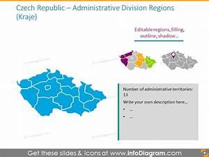 Cee Europe Union Maps Ppt Editable Czech Poland Hungary