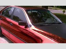 RED CHROME BMW E39 1st one in the US straight out of