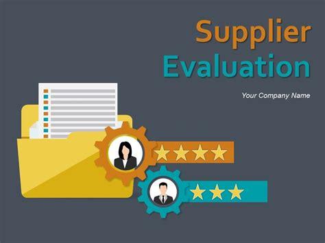supplier evaluation powerpoint