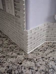 caulking kitchen backsplash my so called diy tiling backsplash in a bay window